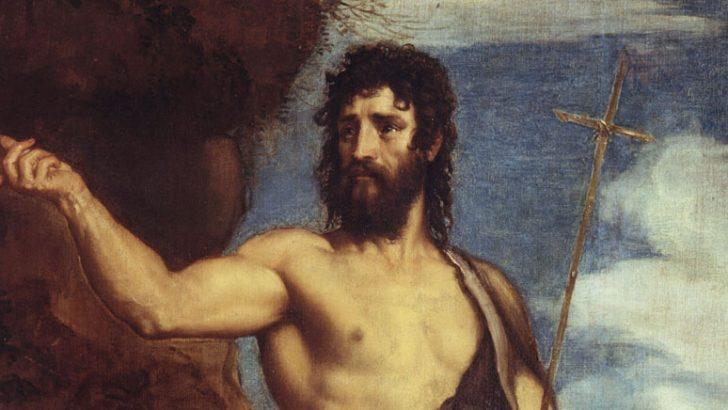 S. Giovanni, che annunciò Cristo già nel grembo materno