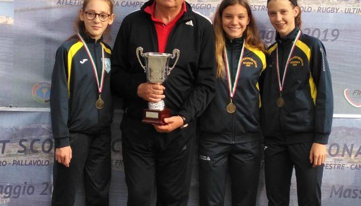 L'istituto Ferrari medaglia di bronzo ai campionati studenteschi