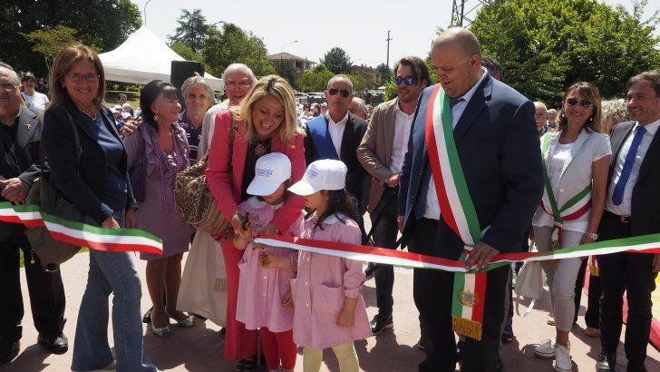 Inaugurata la nuova scuola a Villafranca