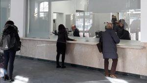 L'immagine di una biglietteria di Trenitalia