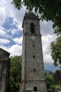 Il campanile di Patigno