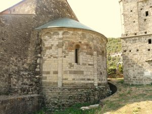 L'abside della pieve di Codiponte