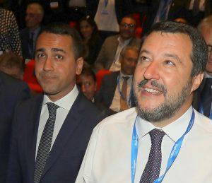 I ministri Luigi Di Maio e Matteo Salvini