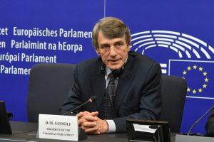 David Maria Sassoli, presidente del Parlamento Europeo