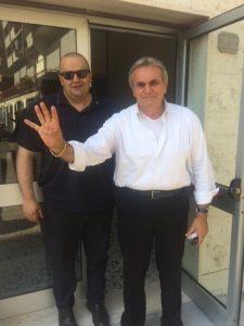 Filippo Bellesi (sinistra) e Riccardo Varese, rispettivamente vice e presidente della Società della Salute (SdS) della Lunigiana