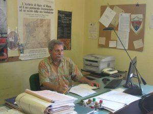 Il direttore degli Archivi di Stato di Pisa e di Massa (sotto cui si trova la sezione pontremolese) Massimo Sanacore.