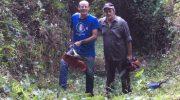 I volontari di Mangia Trekking ripristinano i sentieri