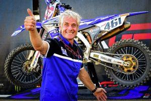 L'ex campione di motocross ed oggi dirigente sportivo Michele Rinaldi