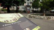 Tre pannelli informativi nel rione di San Pietro