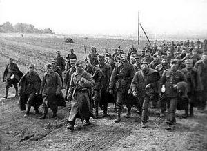 Prigionieri polacchi nei giorni successivi l'invasione tedesca