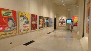 Una delle sale della mostra alla Fondazione Magnani-Rocca