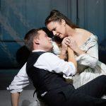 Un momento della rappresentazione del Don Giovanni di Mozart