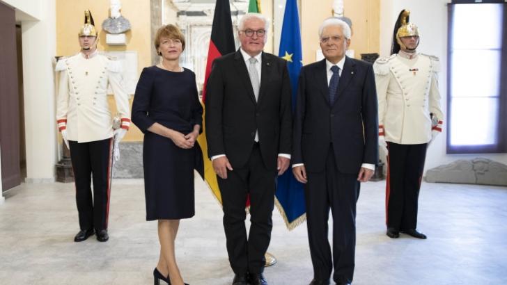 A Fivizzano la storica visita del presidente Mattarella con l'omologo tedesco Steinmeier