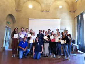 Foto di gruppo dei partecipanti alla Summer School del turismo organizzata da Sigeric