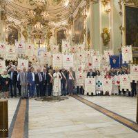 "I ""Fratres"" della Toscana al santuario della Madonna del Popolo a Pontremoli"
