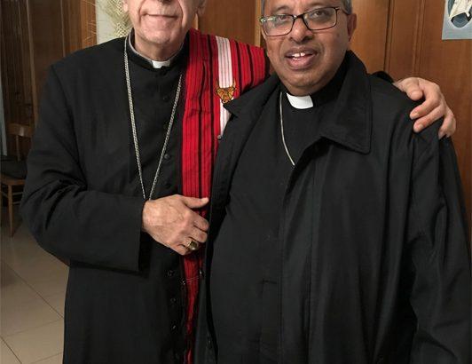 Giovanni e James, un incontro nel segno della cattolicità e della fraternità