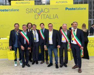 Sindaci e amministratori della Lunigiana all'incontro organizzato da Poste Italiane a Roma