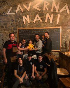 """La consegna a """"La Caverna dei nani"""" il titolo di vincitore di miglior tappa del Tourday"""