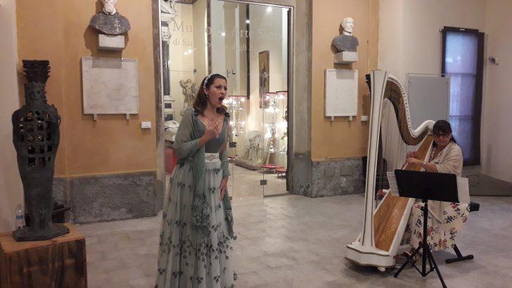 Concerto al museo di San Giovanni di Fivizzano a scopo benefico