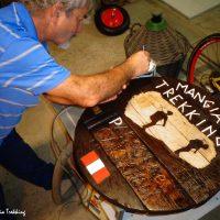 Passo dei Casoni: restaurato un manufatto artigianale