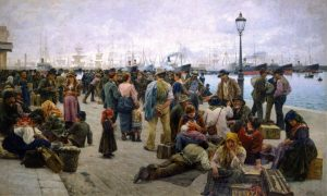 "Adolfo Tommasi, ""Emigranti"" (1896)"