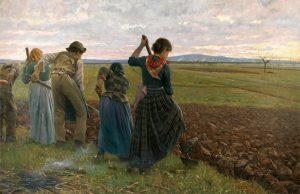 "Angiolo Tommasi, ""Le ultime vangate"" (1892)"
