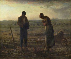 "Jean Francois Millet ""Angelus"" (1858)"