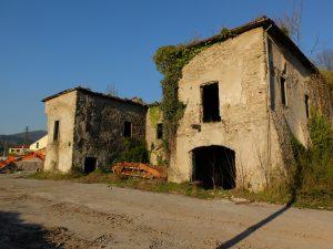 La Villa Ceppellini vista da sudovest