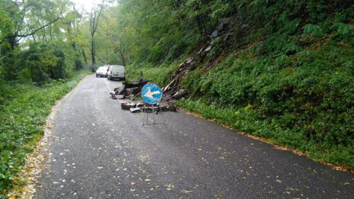 Maltempo: frane e disagi in Lunigiana ma per fortuna nessuna emergenza