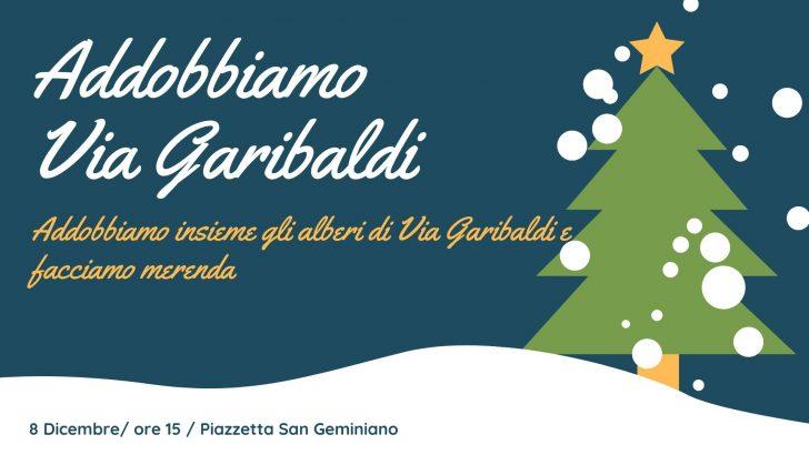 Pontremoli: recuperare gli addobbi di Natale per decorare via Garibaldi