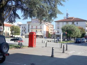 Piazza Italia a Pontremoli