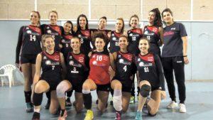 La squadra del Podenzana Volley