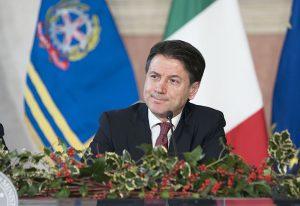 Il Presidente del Consiglio Giuseppe Conte, nella conferenza stampa di fine anno