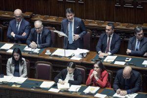 Informativa alla Camera dei Deputati del presidente del Consiglio Conte sulle modifiche al Mes