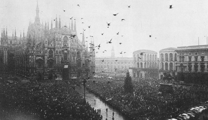 A Piazza Fontana il primo atto del terrorismo nero