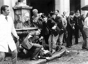 Brescia, piazza della Loggia. La strage del 28 maggio 1974