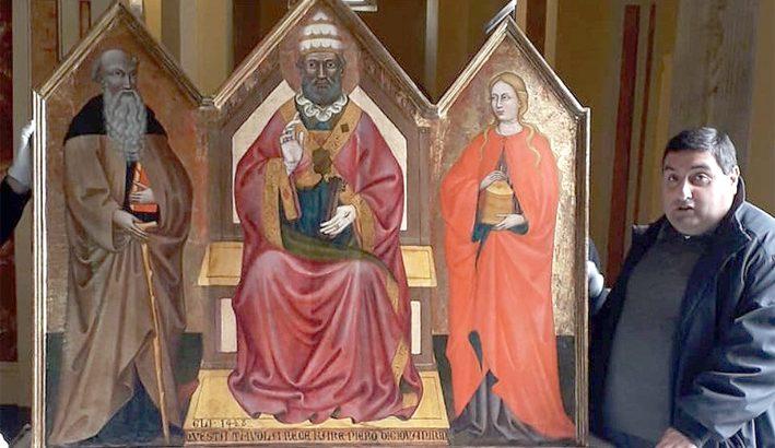Il Trittico Ringli nella chiesa di Avenza dopo cinque secoli