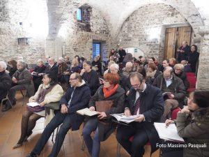 """Il pubblico intervenuto all'assemblea dell'Associazione """"Manfredo Giuliani"""""""