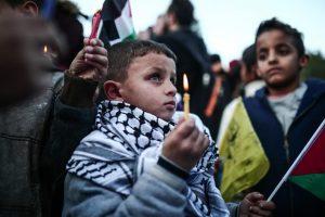 Bambini palestinesi nella Striscia di Gaza