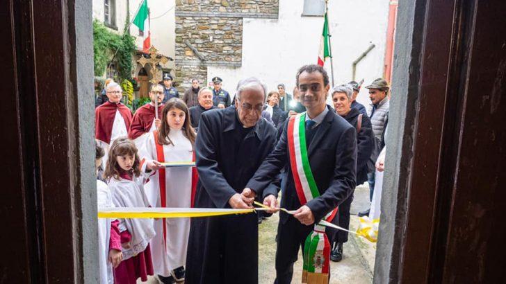 Fivizzano: restituita ai fedeli la chiesa di Ceserano