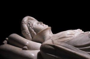 Il monumento funebre a Ilaria del Carretto
