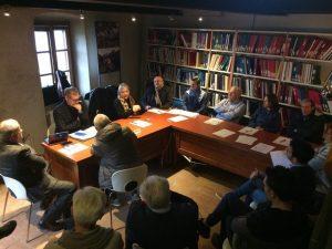 Uno dei tavoli tematici del convegno a Terrarossa
