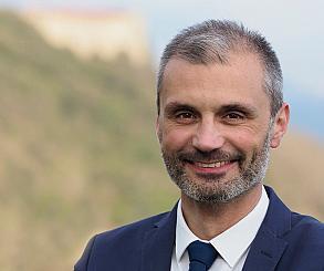 Il sindaco di Podenzana, Marco Pinelli
