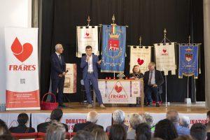Il presidente dei Fratres di Pontremoli, Armando Mastroviti, durante un incontro dell'associazione