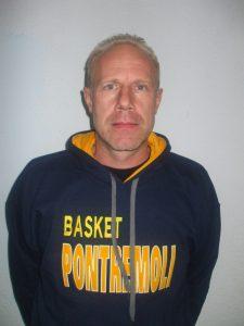 Il presidente del Basket Pontremoli Pietro Ferdani
