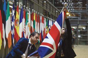 La Union Jack viene rimossa dalle sedi dell'Unione Europea