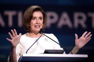 La democratica Nancy Pelosi
