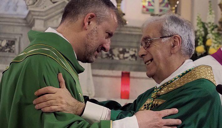 L'ingresso in parrocchia di don Tommaso Forni