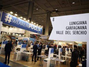 Lo stand della Lunigiana a Milano