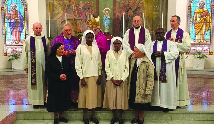 Due nuove sorelle nella famiglia delle suore del Lieto Messaggio
